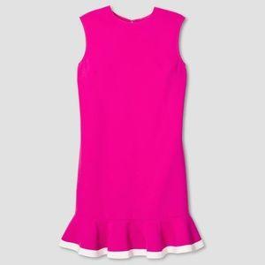 Victoria Beckham for Target Pink Ruffle Hem Dress